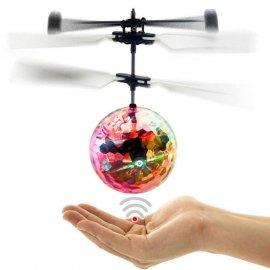 Létající DISCO koule, IR sensor reaguje na překážky, LED /Poštovné ZDARMA!