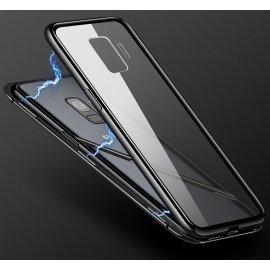 Magnetické kovové puzdro pre Samsung Galaxy S8 S9 S10 Plus S10E S7 Edge Note 8 9 M20 M10 A30 A50 A7 A8 A9 J4 J6 Plus 2018