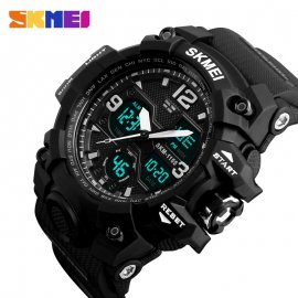 Sportovní hodinky SKMEI SKM-1155, vodotěsné, analog i digital, alarm, stopky /Poštovné ZDARMA!