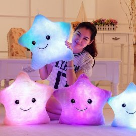 LED Plush Toy Star, Soft Material, Glowing / FREE Shipping!