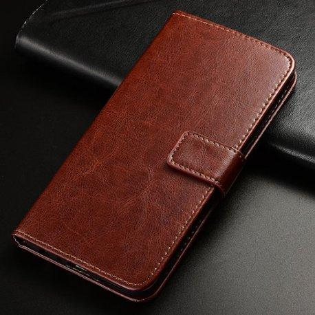 Pouzdro pro Cubot X15, flip, stojánek, peněženka, PU kůže