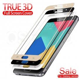 Tvrdené sklo pre Samsung Galaxy J3 2017 J5 J7 2016 A5 A7 A3 2017 J5, Tempered glass 9h, úplné pokrytie displeja
