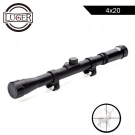 Riflescope LUGER 4x20 Sight Reflective Optics 11mm Mount / FREE SHIPPING!
