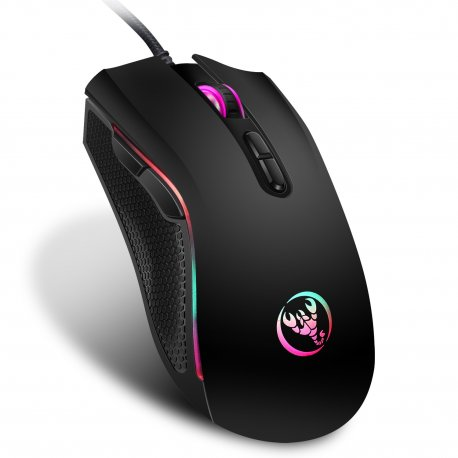 High-end optical mouse Hongsund 7 buttons, 7 LED backlight, 3200-1200 DPI