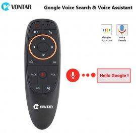 Air Mouse ovládač VONTAR G10 pre Android, PC, Youtube, Netflix atď, gyroskop, podsvietenie / Poštovné ZADARMO!