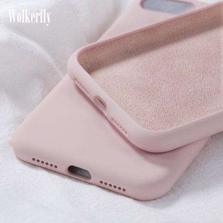 Soft Liquid Silicone Case For Samsung Galaxy A10 A20 A30 A40 A50 A70 A20E J4 J6 J8 A6 2018 Note8 9 10 S8 S9 S10 Plus S10e
