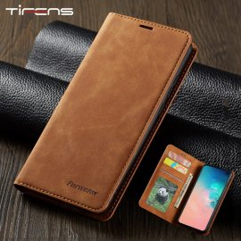 Leather Flip A50 A60 A70 A40 A30 A20 A10 A51 A71 Case For Samsung S9 S8 S7 Edge S10 J4 J6 Plus A7 A8 2018 Note 9 10 Magnet Cover
