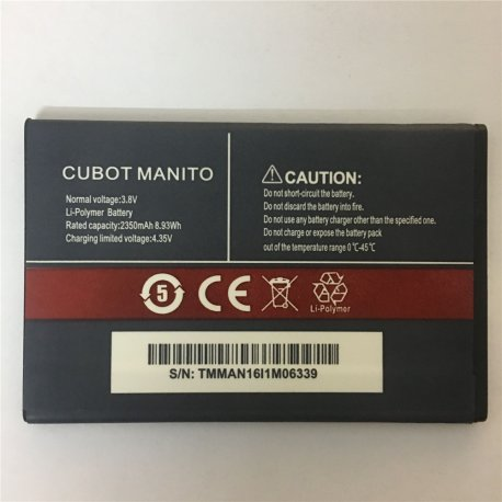 Baterie pro CUBOT MANITO, 2350mAh