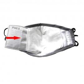 PM2.5 Maska respirator, 2xfiltr s aktivním uhlím, 5 vstev ochrana proti infekcím, kvalitní bavlna /Poštovné ZDARMA!