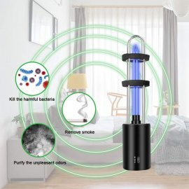 Portable UV sterilization lamp against viruses, bacteria, disinfection, rechargeable / FREE Shipping!