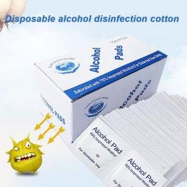 100ks Dezinfekčné utierky s alkoholom 70%, proti baktériám / Poštovné ZADARMO!