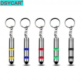 Antistatic keychain for cars, pc etc.