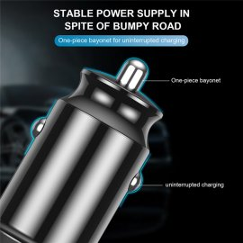 2 x USB Car Charger for Mobile, Tablet, iPhone and Other 2x3.1A (2pcs)