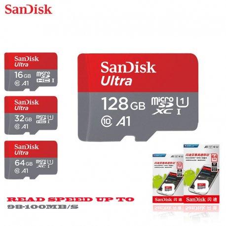Paměťová karta SANDISK Class 10 48mb/s 64gb 32gb 16gb Ultra SDHC SDXC UHS-I MicroSD