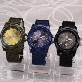 Vojenské analógové hodinky Gemius Army, quartz, nylonový remienok / Poštovné ZADARMO!