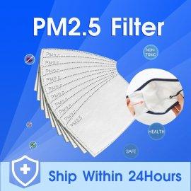Filtre PM2,5 pre masky a rúška, 5 vrstiev ochrany, 10-200KS, aj pre deti / Poštovné ZADARMO!