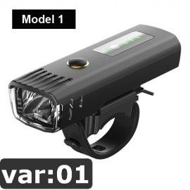 NEWBOLER Světlo na kolo, Inteligentní zapínání, COB LED, IPX5, USB nabíjení, 4 mody