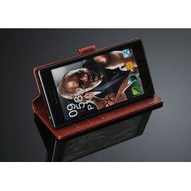 Case for Lenovo P70, flip, stand, wallet, PU leather