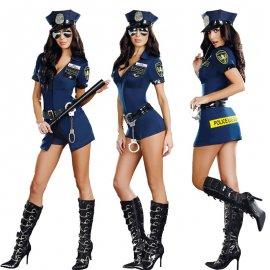 Kostým sexy policajtka / policajtka / Poštovné ZADARMO!
