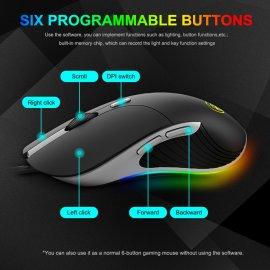 Podsvietená herná myš imice X6 Professional 6400 DPI, RGB podsvietenie / Poštovné ZADARMO!
