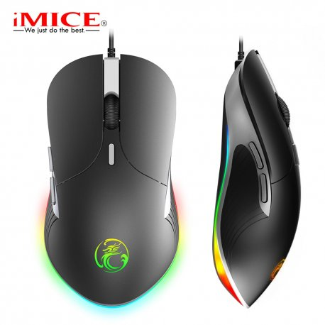 Backlit gaming mouse imice X6 Professional 6400 DPI, RGB backlight / FREE shipping!