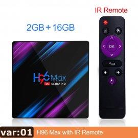 H96 MAX RK3318 Smart TV Box Android 9 9.0 4GB 32GB 64GB 4K Youtube Media player H96MAX TVBOX Android TV Set top box 2GB16GB