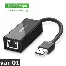 UGREEN USB síťová karta Gbit USB 3.0 2.0 /Poštovné ZDARMA!