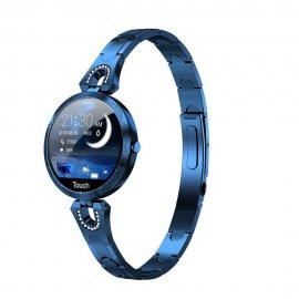 Nádherné dámské chytré hodinky LEMFO, IP67, fitness, srdeční tep, monitor spánku, notifikace, krokoměr, BT pro Android a iOS