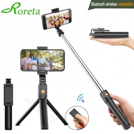 Najpredávanejšie teleskopická Selfie tyč 3v1, BT, trojnožka, diaľkový ovládač, pre iPhone IOS Android / Poštovné ZADARMO!