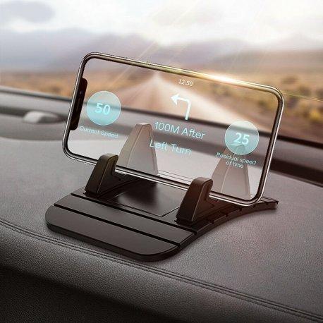 """Držák do auta pro Mobily 3-5"""", univerzální, silikon"""