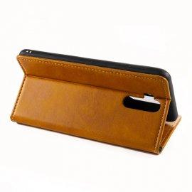 Puzdro pre Oukitel K9, stojan, peňaženka, pu koža / Poštovné ZADARMO!