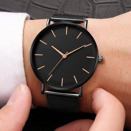 2021 Nádherné dámske hodinky, quartz, nerez oceľ, ultra tenký remienok / Poštovné ZADARMO!