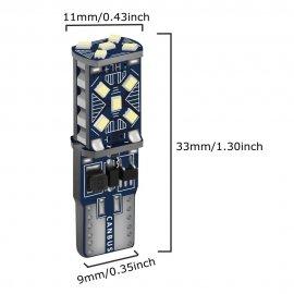 2ks T10 W5W 12V super svietivé LED žiarovky do parkovacích svetiel a do interiéru WY5W 168 501 2825 / Poštovné ZADARMO!