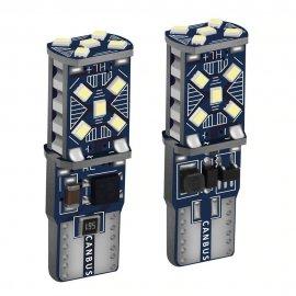 2ks T10 W5W 12V super svítívé LED žárovky do parkovacích světel a do interiéru WY5W 168 501 2825 /Poštovné ZDARMA!