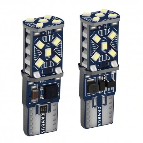 2pcs T10 W5W 12V super bright LED bulbs for parking lights and interior WY5W 168 501 2825 / FREE Shipping!
