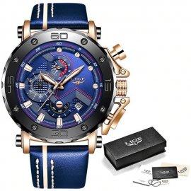 Luxusní pánské hodinky LIGE, vodotěsné 30M /Poštovné ZDARMA!