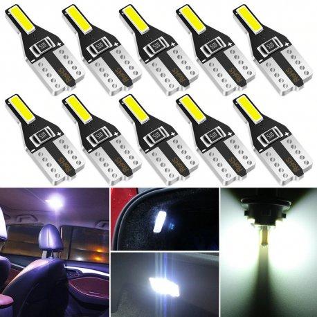 10pcs T10 W5W 12V super bright LED bulbs for interior / FREE Shipping!
