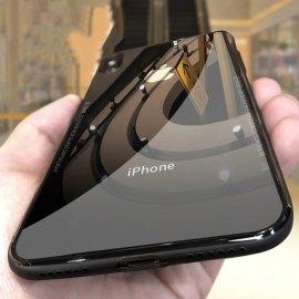 Silikónové puzdro s tvrdeným sklom pre iPhone XS Max XR 6 6S 7 plus / Poštovné ZADARMO!