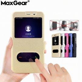Case for Huawei Honor 4X 5X 6X 7X 8X 7A 8A 7C 8 9 10 Lite Mate 20 Pro 7 Mini, flip, view window