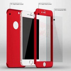 360 stupňů pouzdro pro iPhone 11 Pro XR Xs Max X iPhone 8 7 Plus 6 6s 5 5S SE 2020 včetně skla /Poštovné ZDARMA!