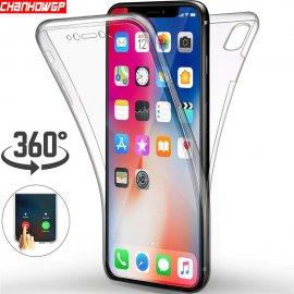 360 stupňů silikonové pouzdro pro iPhone 11 Pro XR Xs Max X iPhone 8 7 Plus 6 6s 5 5S SE /Poštovné ZDARMA!