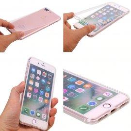 360 stupňov silikonove puzdro pre Samsung Galaxy S6 S7 Edge S8 S9 S10 Plus Note 4 5 8 9 10 Pro / Poštovné ZADARMO!