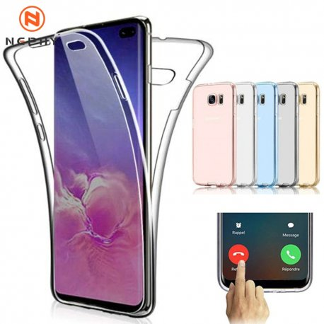360 Degree Silicone Case for Samsung Galaxy S6 S7 Edge S8 S9 S10 Plus Note 4 5 8 9 10 Pro / FREE Shipping!