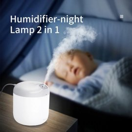 BASEUS Aroma diffuser Humidifier 600ml Night light Intelligent switch-off 2 modes / FREE shipping!