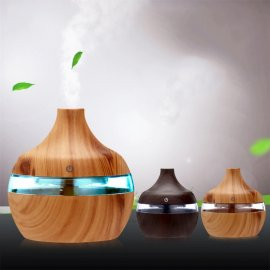 LED Aroma Diffuser Humidifier 300ml Night Light Ultrasonic Aromatherapy / FREE Shipping!