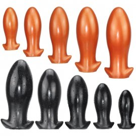 Huge anal plug, bdsm, fine silicone / FREE Shipping!