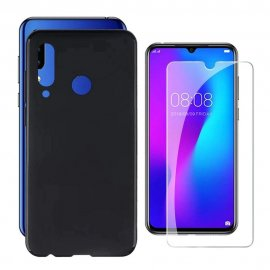 Silicone case with tempered glass for Doogee N20 / FREE Shipping!