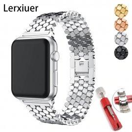 Nerezový pásek pro Apple Watch 5 4 3 2 1 /Poštovné ZDARMA!