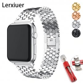 Stainless steel strap for Apple Watch 5 4 3 2 1 / FREE Shipping!