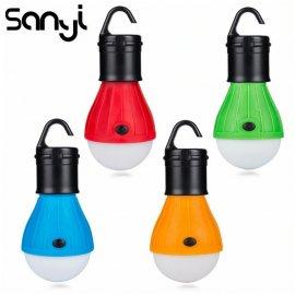 LED závesná lampička lampáš, camping outdoor survival